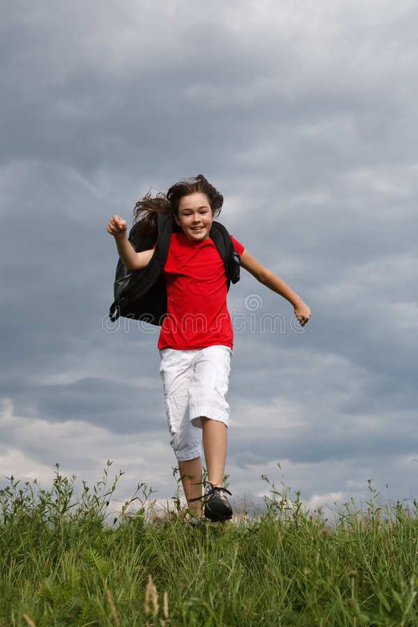 Download Back to school stock photo. Image of country, kids, outdoor - 9348626
