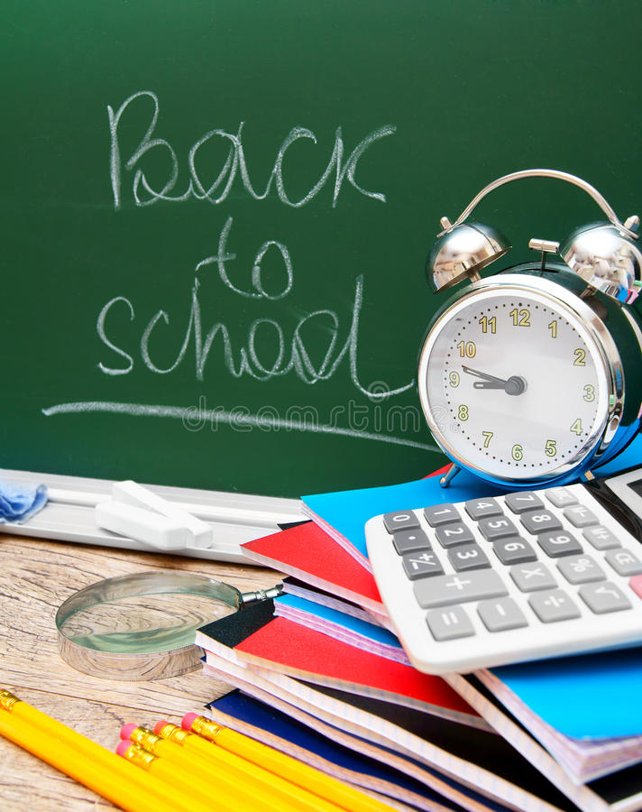 Back to school. royalty free stock photos