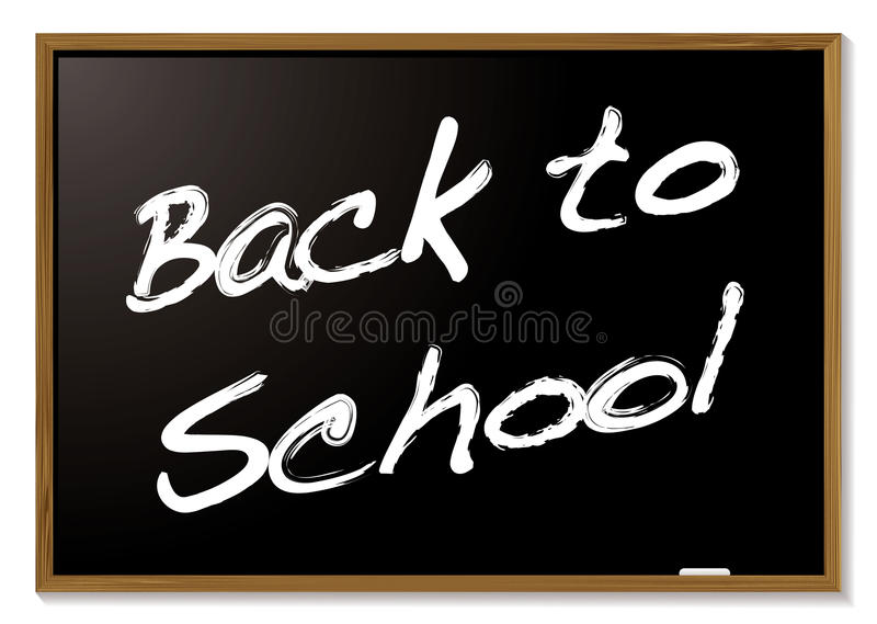 Back To School Blackboard Royalty Free Stock Photos