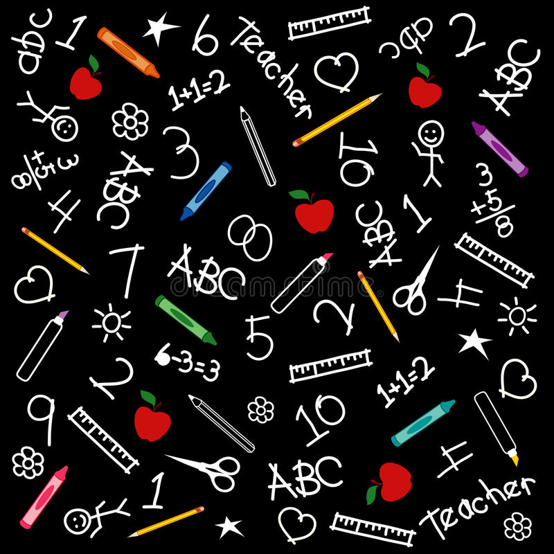 Free Back To School Chalkboard Background Stock Image - 14703031