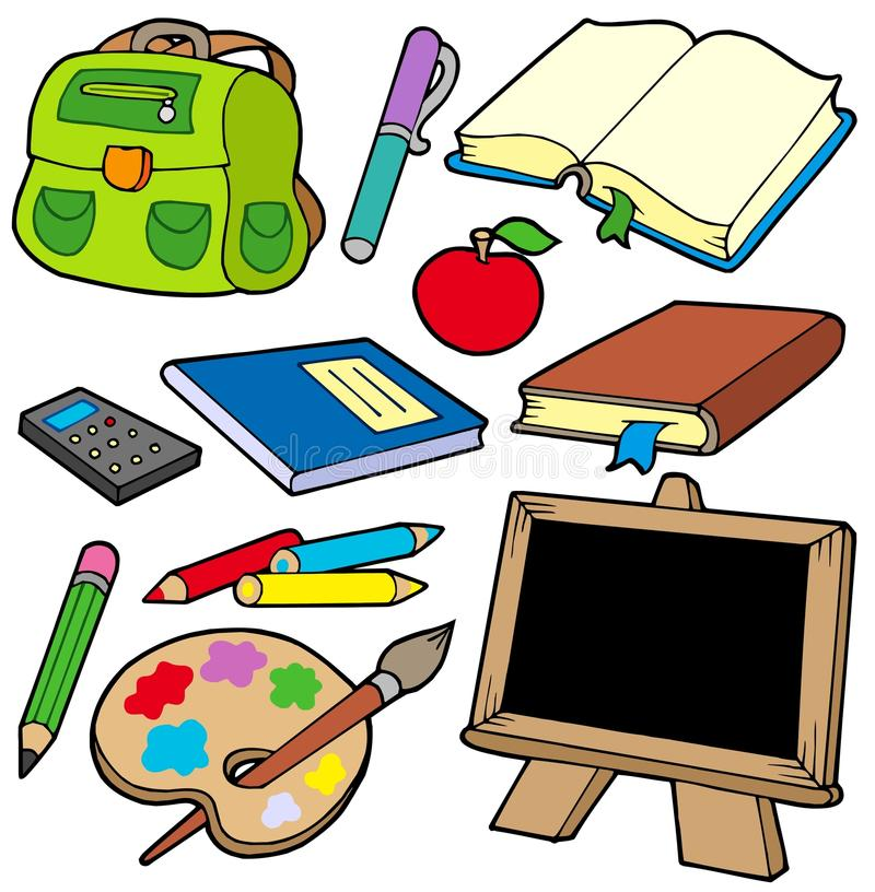 Download Back To School Collection 1 Stock Vector - Image: 10078014
