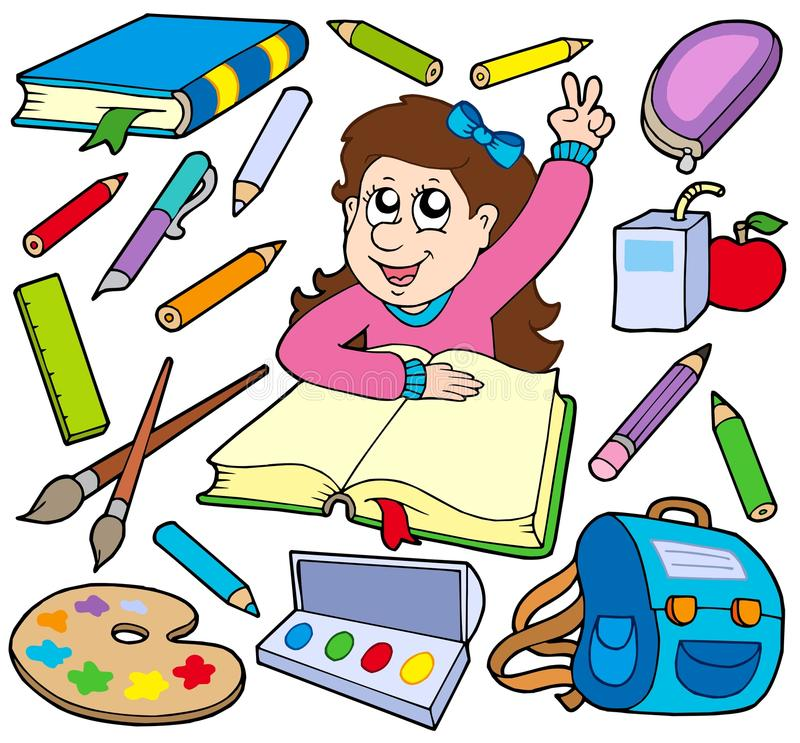 Back To School Collection 3 Royalty Free Stock Photo