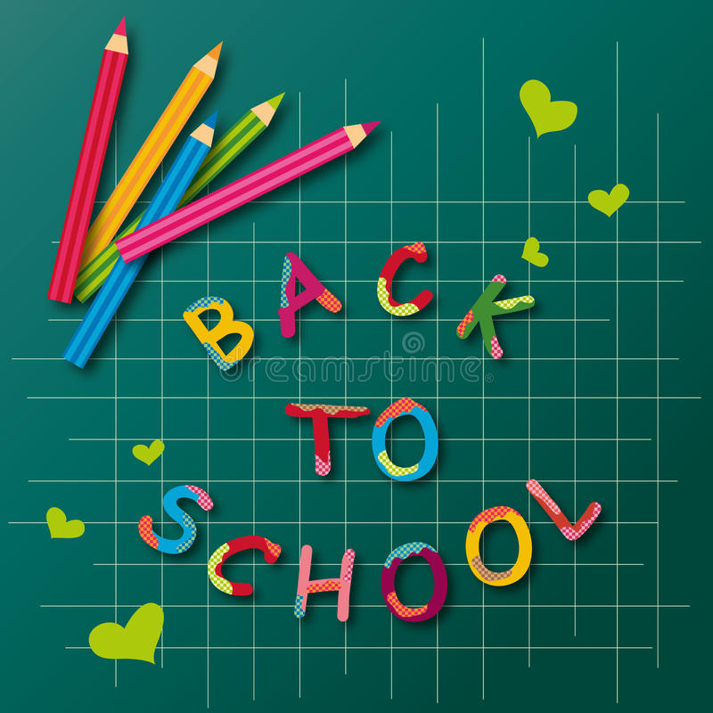 Download Back To School stock vector. Image of elementary, rainbow - 32623923