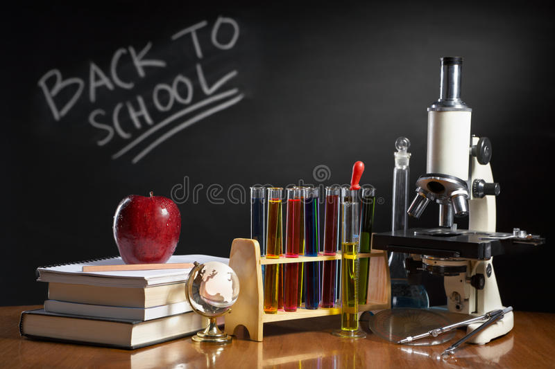 Download Back to school concept stock photo. Image of stack, pencil - 15589580