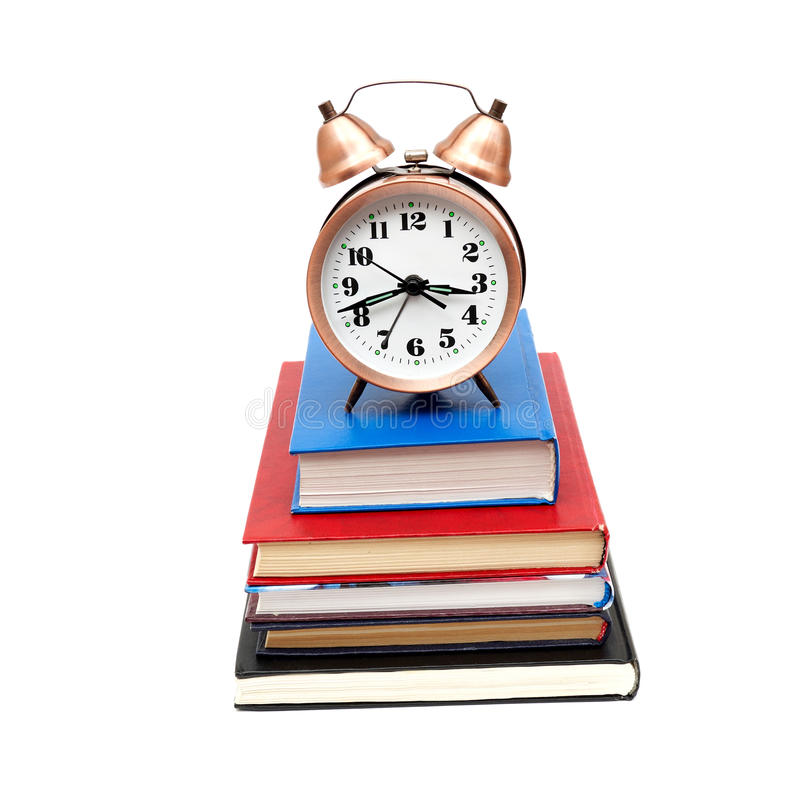 Download Back to school concept stock photo. Image of heap, alarm - 17910092