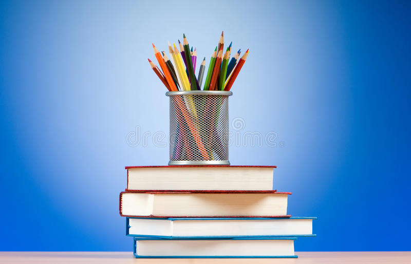 Download Back To School Concept With Books Royalty Free Stock Photo - Image: 16312065