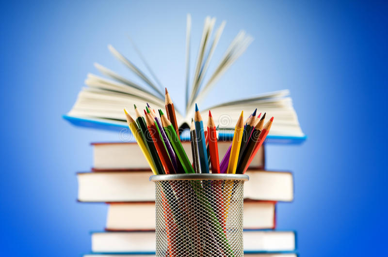 Download Back To School Concept With Books Stock Photos - Image: 16575693
