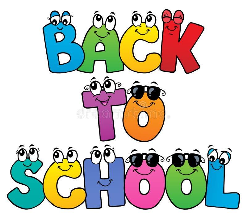 Back to school design 5. Eps10 vector illustration stock illustration