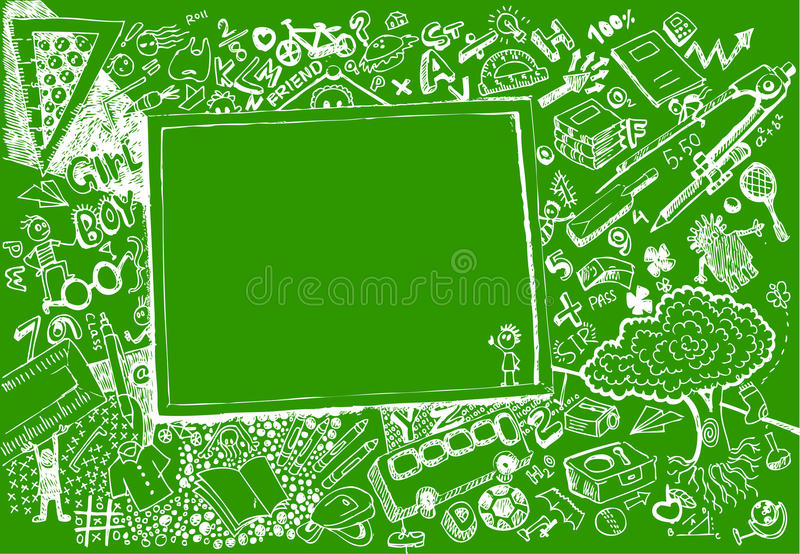 Download Back to School Doodle stock vector. Image of graffiti - 22639352
