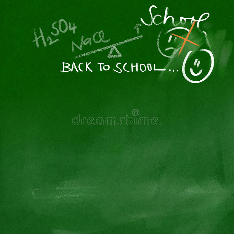 Download Back To School Doodles On Chalkboard Royalty Free Stock Image - Image: 20564736