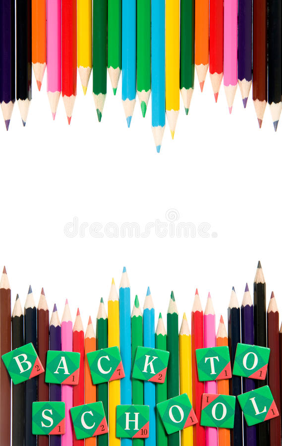 Back To School Frame, Education Concept Stock Image - Image of frame ...