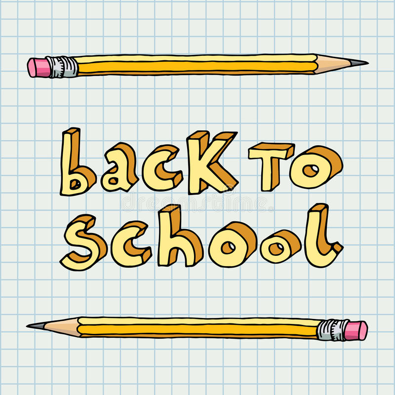 Back to school stock illustration