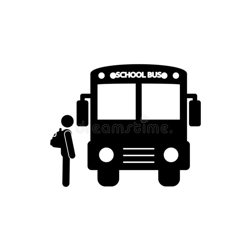 Back to school icon. Element of back to school icon for mobile concept and web apps. Glyph back to school icon can be used for web. And mobile on white vector illustration