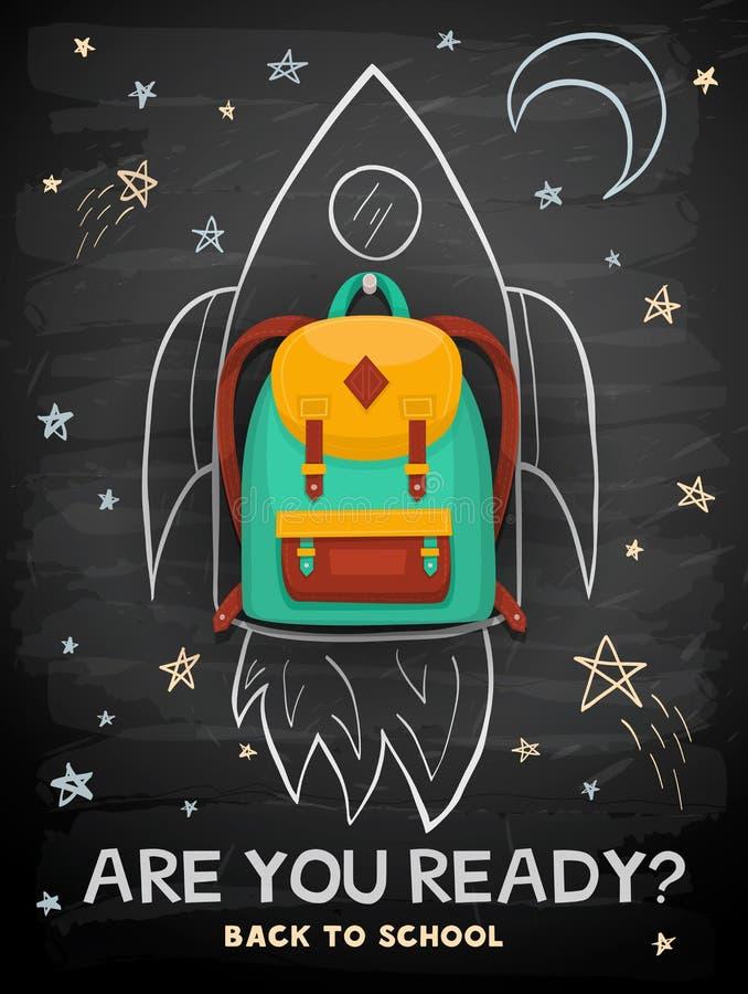 Back to school illustration vector illustration