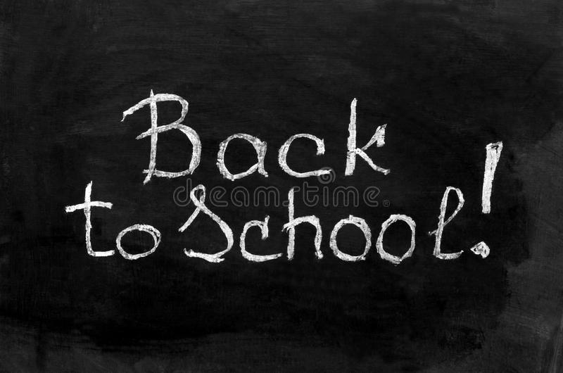 Back to school lettering with books stock images