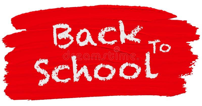 Back to school logo stock illustration