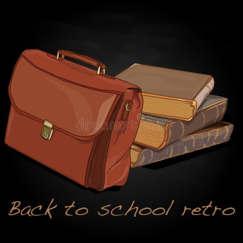 Download Back To School Retro Vector Stock Vector - Image: 83715039
