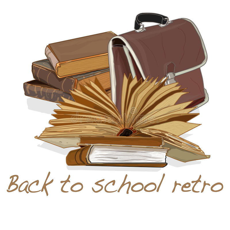 Download Back To School Retro Vector Stock Vector - Image: 83714137