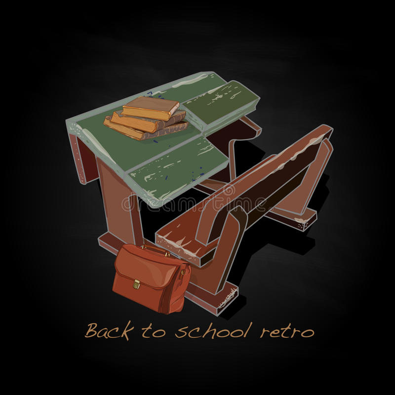 Download Back To School Retro Vector Stock Vector - Image: 83714891