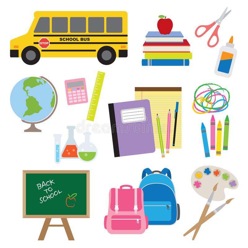 Free Back To School Supplies Royalty Free Stock Photo - 19461265