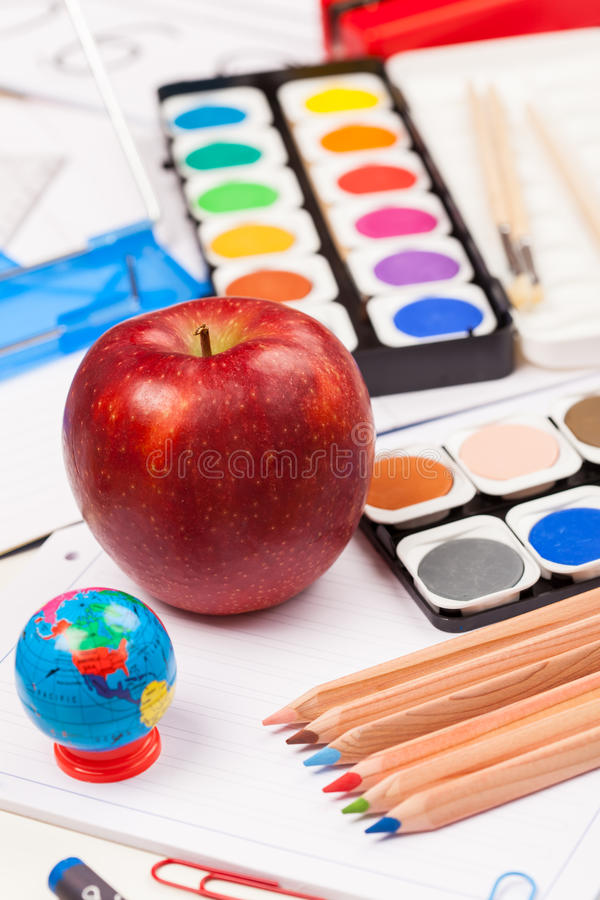 Download Back to school stock photo. Image of nobody, exercise - 56321646