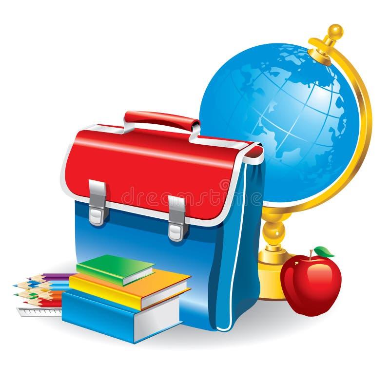 Back to school (vector illustration) vector illustration