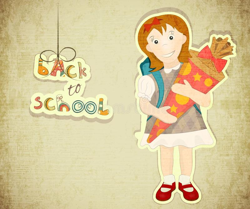 Download Back to School stock vector. Illustration of school, card - 32645399