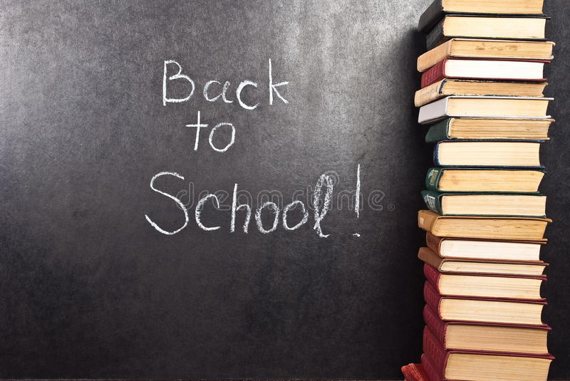 Download Back To School Written Royalty Free Stock Images - Image: 13678699