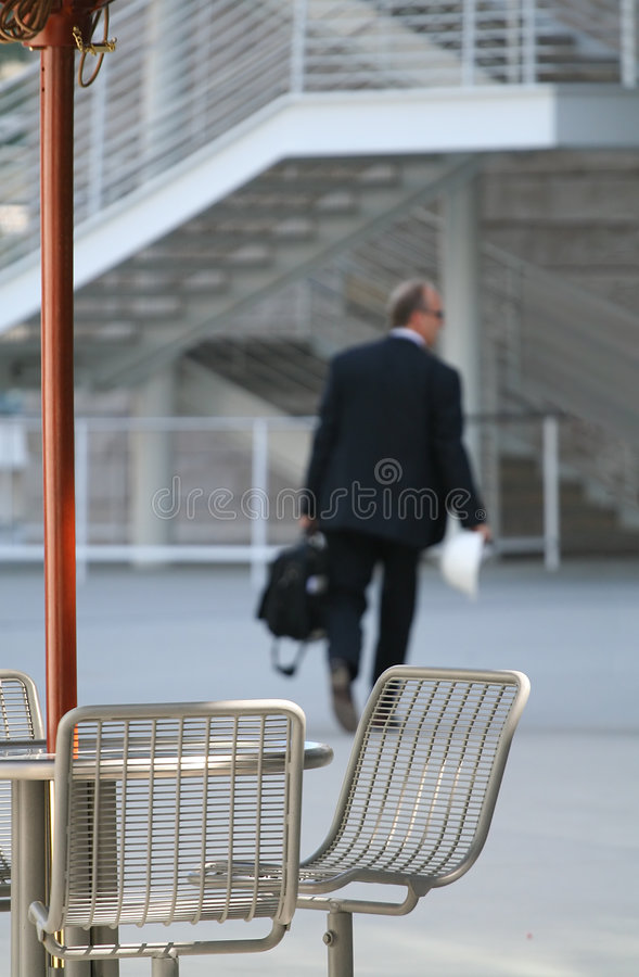 Back to Work stock image
