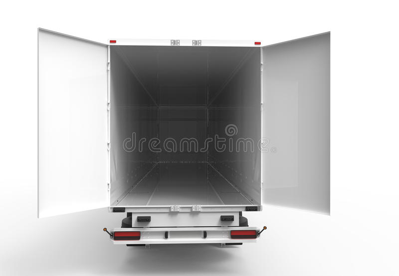Back truck stock photography