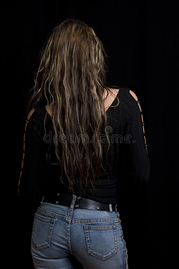 Back View Royalty Free Stock Image
