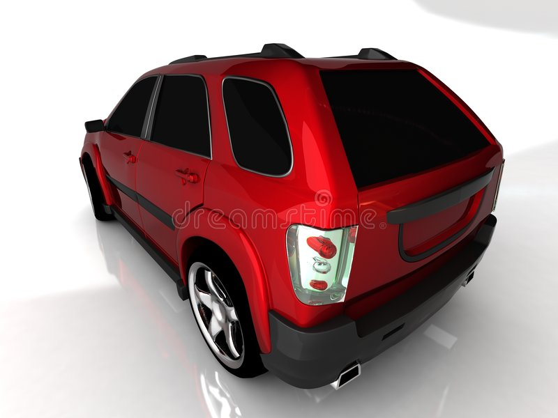 Download Back view of car stock illustration. Image of illustration - 8474074