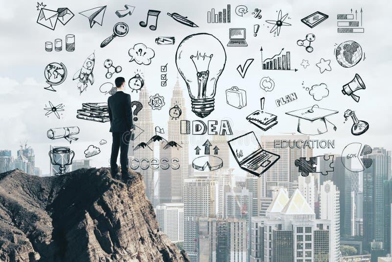 Entrepreneur and workshop concept stock photos