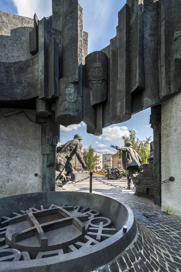 Download Back Of The Warsaw Uprising Monument In Warsaw Editorial Image - Image: 26652295