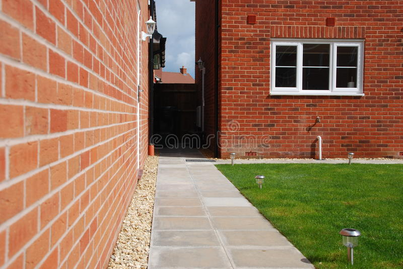 Download Back yard garden stock image. Image of lawn, grass, green - 14769247