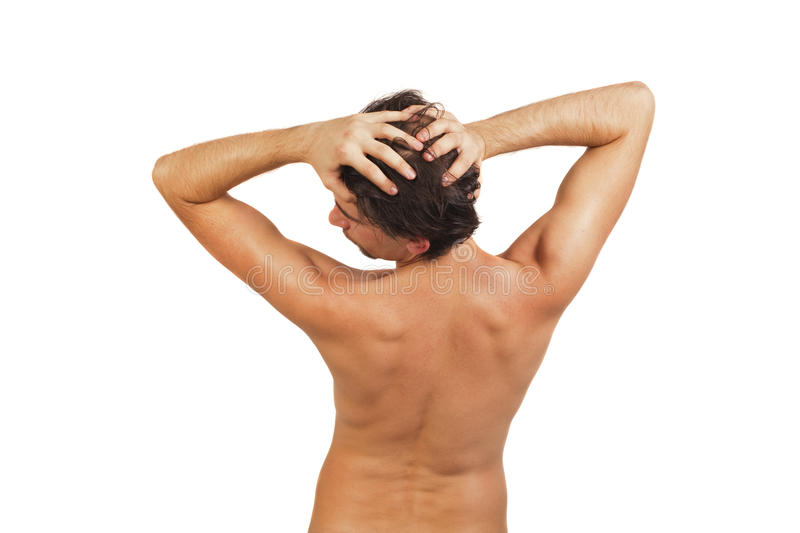 Download Back Of Young Naked Man With Beautiful Body Stock Images - Image: 17686924