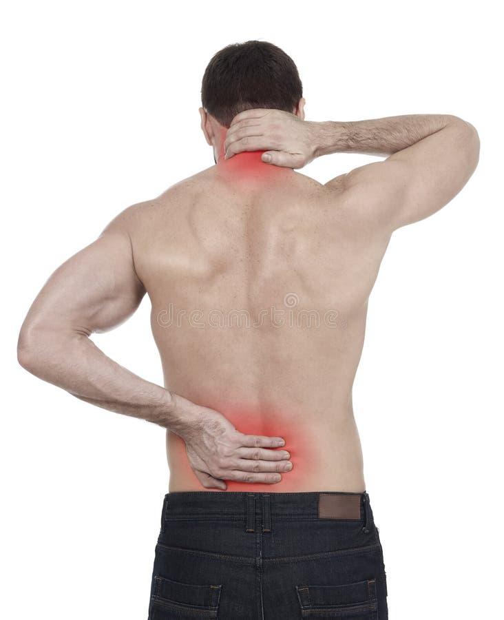 backache lizenzfreies stockbild