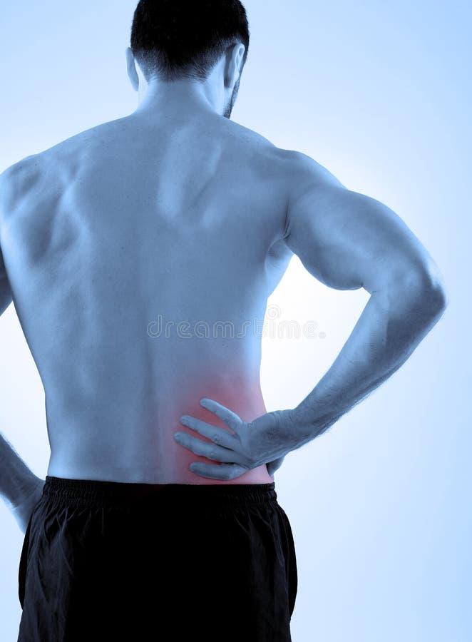 backache stockfoto