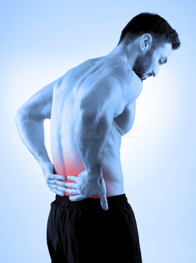 backache stockbild