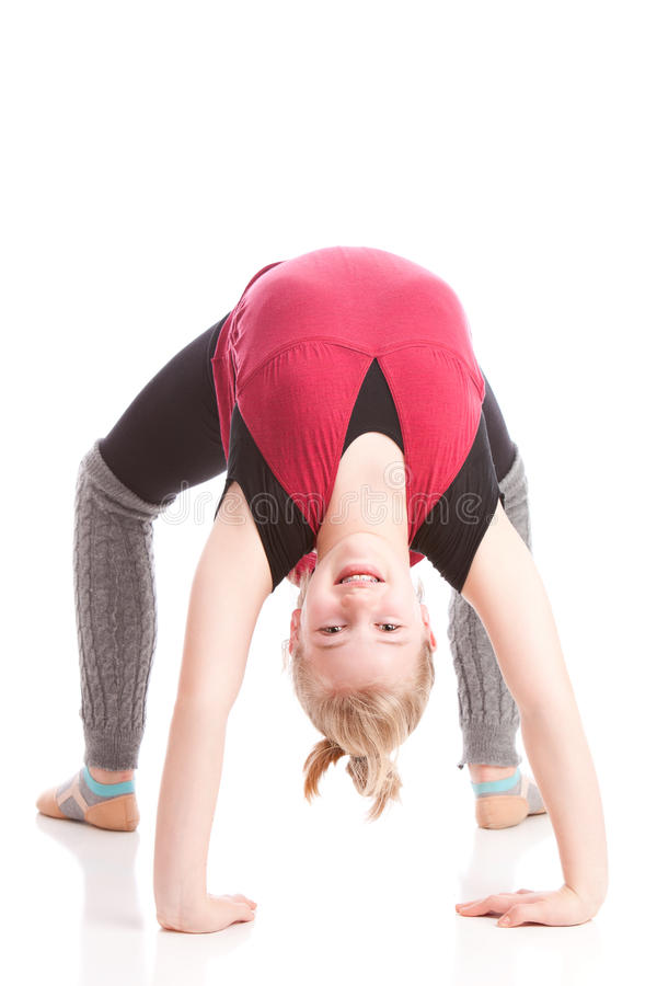 Download Backbend stock image. Image of warm, up, grey, bend, arch - 28370175