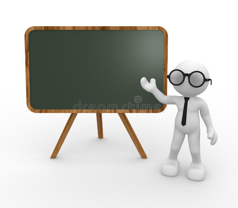 Download Backboard stock illustration. Image of audience, classroom - 26601848