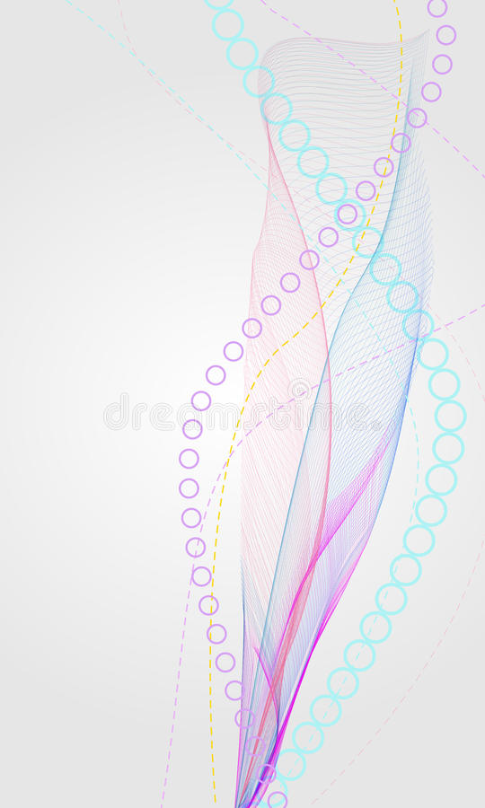Backckround astratto illustrazione vettoriale