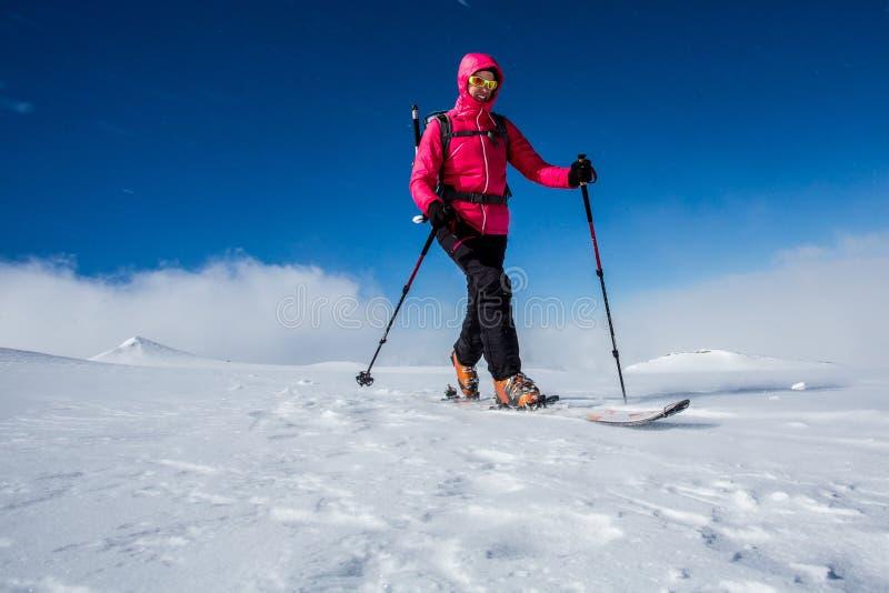 backcountry να κάνει σκι στοκ εικόνες με δικαίωμα ελεύθερης χρήσης