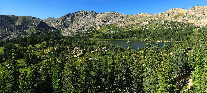backcountry Colorado zdjęcie royalty free