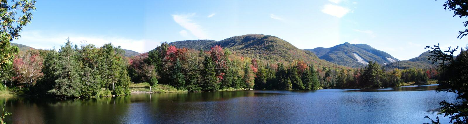 Backcountry Wilderness Pond stock image