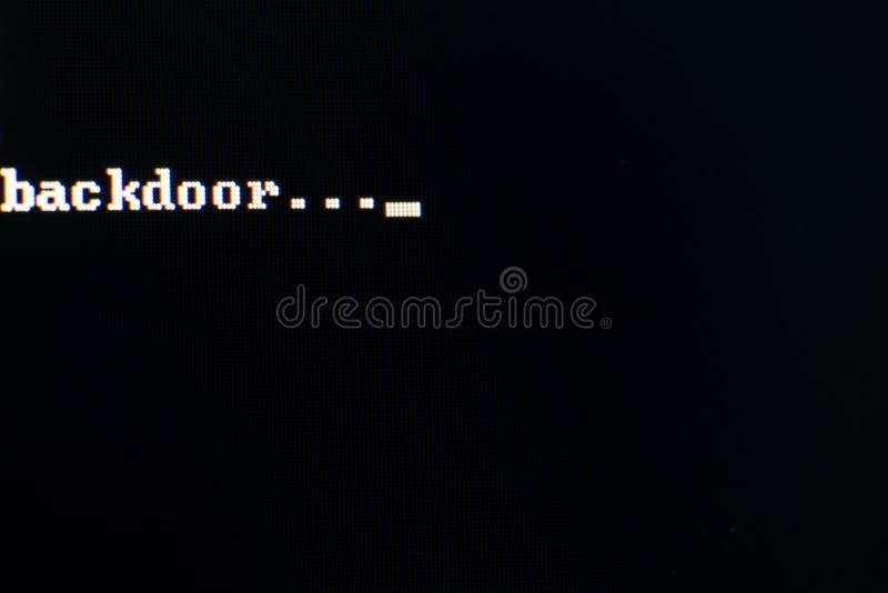 backdoor стоковые фото