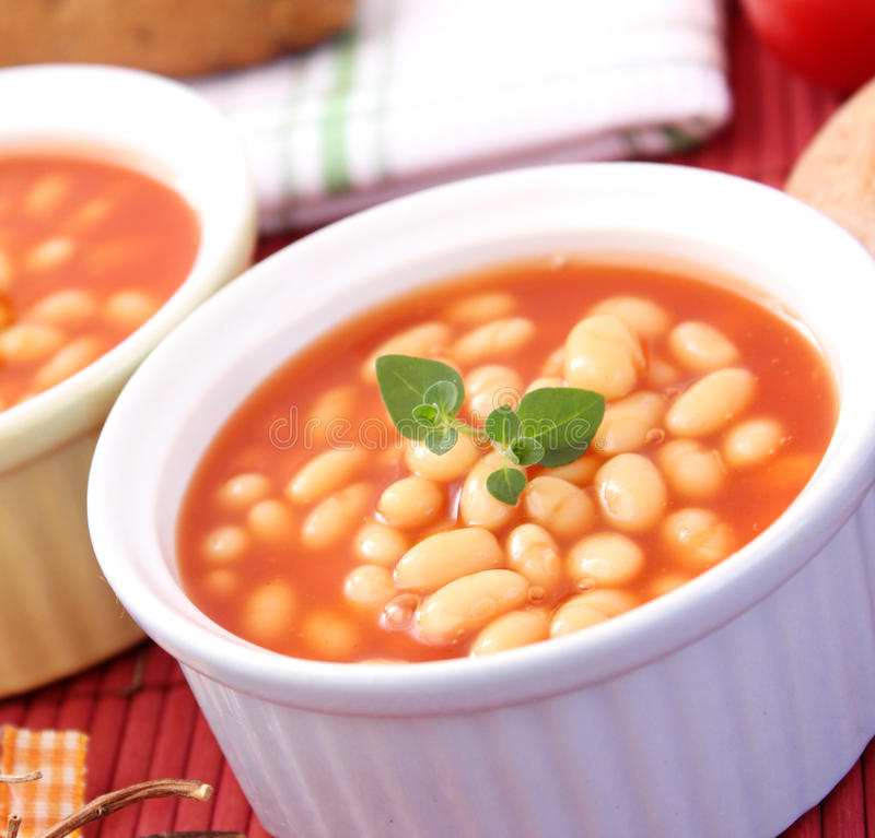 Free Backed Beans Stock Photos - 18201173