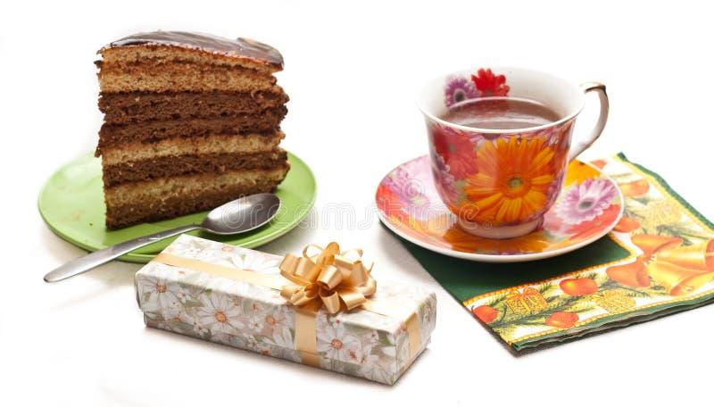 Download Backen Sie Mit Tee Oder Kaffee Zusammen Stockbild - Bild von getränk, braun: 12202031