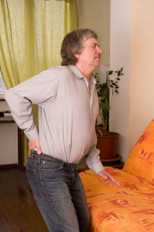 backen smärtar royaltyfri bild