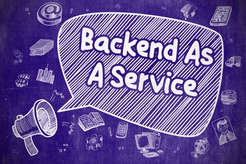 Download Backend Som En Service - Affärsidé Stock Illustrationer - Illustration av megafon, bärare: 78731880